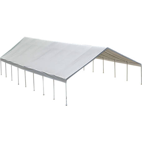ShelterLogic Ultra Max Industrial Canopy, White, 30 ft. x 30 ft.