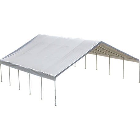 ShelterLogic Ultra Max Industrial Canopy, White, 30 ft. x 40 ft.