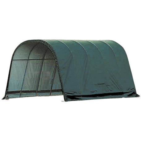 ShelterLogic Equine Run, In Shed, Round Style, 13 ft. x 20 ft. x 10 ft.