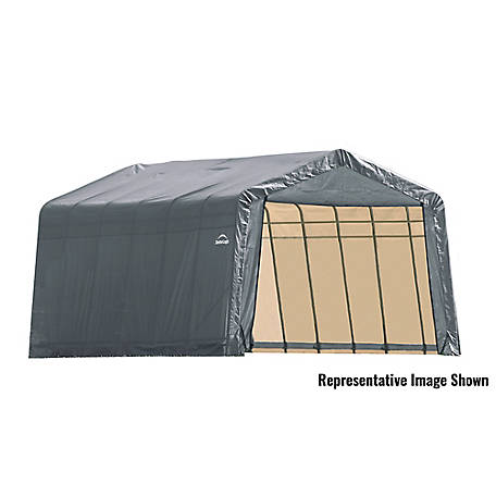 ShelterLogic 13 x 28 x 10 ft. Grey Peak Shelter, 90243