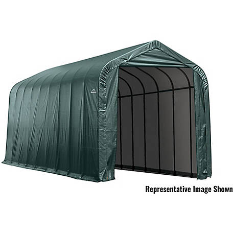 ShelterLogic 15 x 20 x12 ft. Green Peak Shelter, 95351