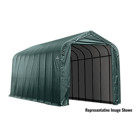 ShelterLogic 15 x 24 x 12 ft. Grey Peak Shelter, 95370