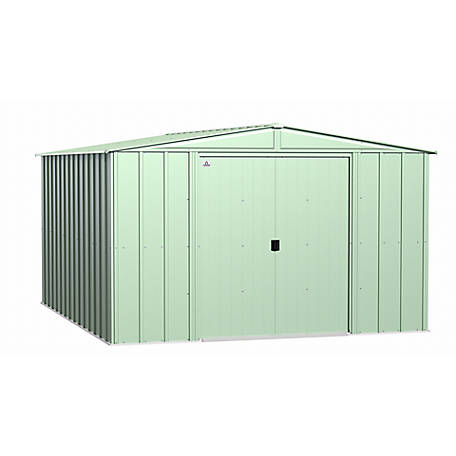 ShelterLogic 15 x 40 x 16 ft. Green Peak Shelter, 95844