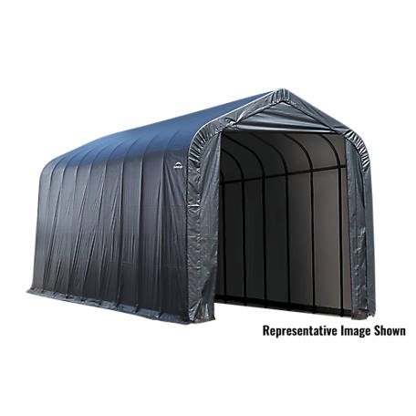 ShelterLogic 15 x 44 x16 ft. Grey Peak Shelter, 95943