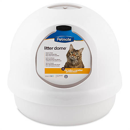 Petmate Litter Dome, White