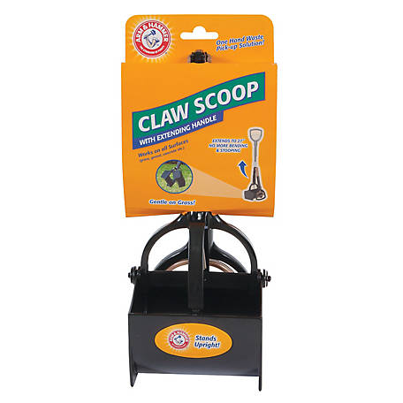 Arm & Hammer Claw Scoop with Extending Handle