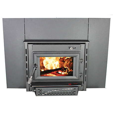Fantastic Vogelzang Wood Stove Insert 1 800 Sq Ft With Surround And Blower Tr004 At Tractor Supply Co Download Free Architecture Designs Grimeyleaguecom