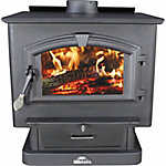 US Stove Wood Stove, 2,400 sq. ft. EPA Certified with Blower, 2500