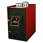 US Stove Coal Furnace, 2,500 sq. ft. Red HotBlast with Dual 550 CFM Blowers Coal Only, 1500