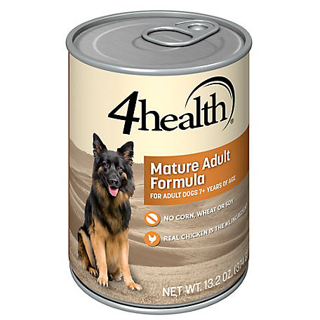 4health Original Senior Chicken & Rice Formula Dog Food, 13.2 oz. Can