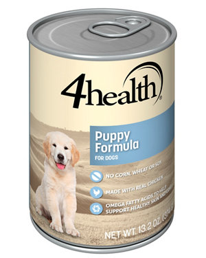 4health Puppy Food >> 4health Chicken & Rice Puppy Formula Dog Food, 13.2 oz. Can at Tractor Supply Co.
