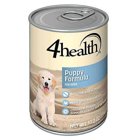 4health Original Chicken & Rice Puppy Formula Dog Food, 13.2 oz. Can