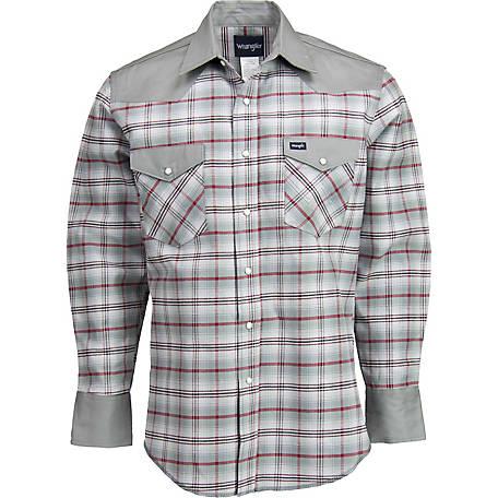17592ce2e07 Wrangler Men's Western Work Shirt at Tractor Supply Co.