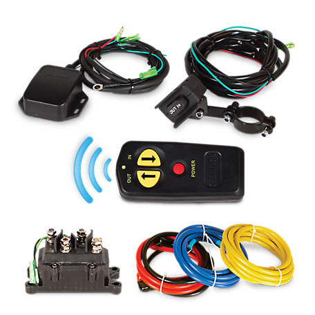 Champion Power Equipment Wireless Winch Remote Control Kit for 5000-lb. or Less ATV/UTV Winches