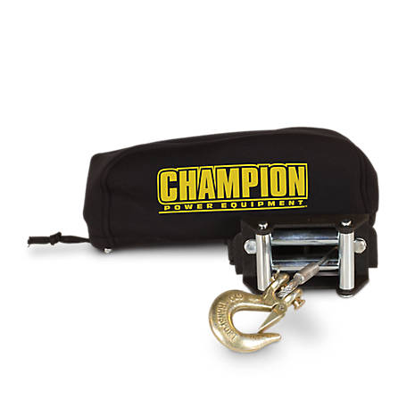 Champion Power Equipment Weather-Resistant Neoprene Storage Cover for Winches 2,000-3,500 lb., 18030