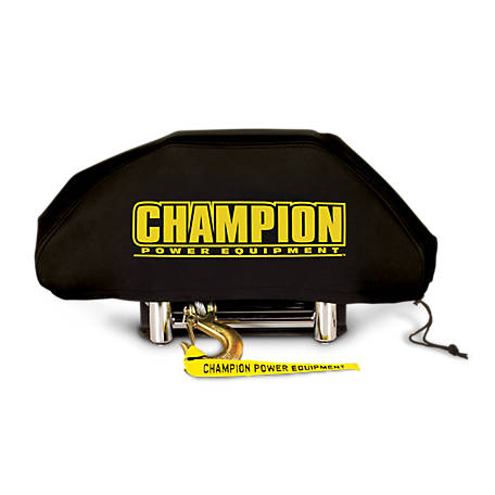 Champion Power Equipment Weather-Resistant Neoprene Storage Cover for Winches 8,000-12,000 lb., 18035