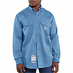 Carhartt Men's Flame Resistant Work Dry Light Weight Twill Shirt