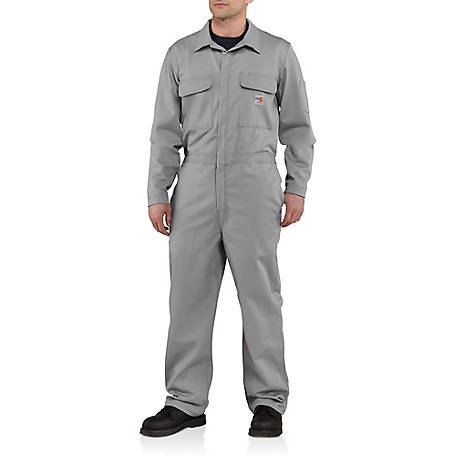 Carhartt Mens Flame Resistant Traditional Twill Coverall At Tractor