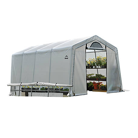 ShelterLogic GrowIT Greenhouse-In-A-Box EasyFlow Greenhouse, Peak-Style, 10 ft. x 20 ft. x 8 ft.