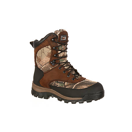 Rocky Men's 8 in. Core Waterproof Boot, 400g Thinsulate Ultra