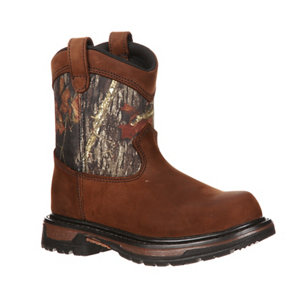 Rocky Youth Ride Pull-On Boot - For Life Out Here