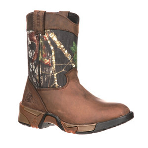 Rocky Youth Aztec Pull-On Boot - For Life Out Here