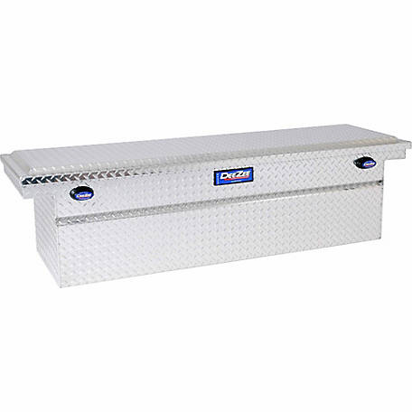 Dee Zee Blue Label Crossover Tool Box, 21 in. x 74 in. x 20 in., Silver