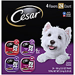 Cesar Canine Cuisine Club Variety Pack Dog Food Trays, 3.5 oz., Pack of 24 Price pending