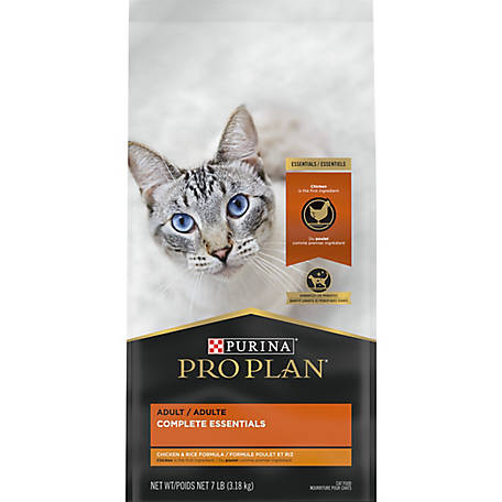 Purina Pro Plan High Protein, Probiotics Dry Cat Food, SAVOR Chicken & Rice Formula - 7 lb. Bag