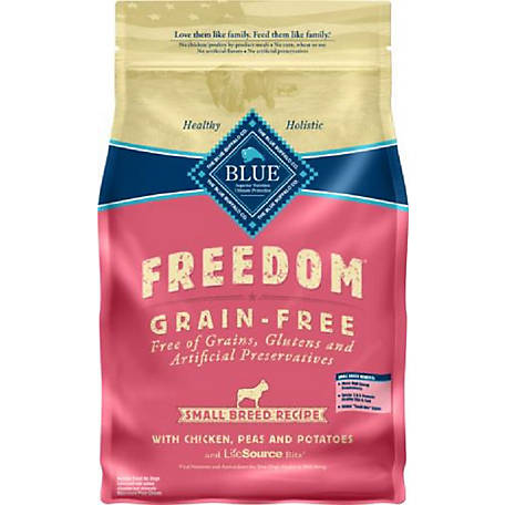 Blue Freedom Grain-Free Chicken Recipe For Small Breed Adult Dogs, 4 lb.