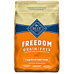 Blue Freedom Grain-Free Chicken Recipe For Large Breed Adult Dogs, 24 lb.