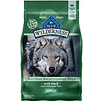 BLUE Wilderness Duck For Adult Dogs, 4.5 lb. Bag