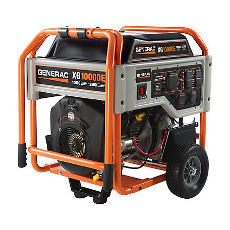 Generac 10,000 Watt Electric Start Portable Generator