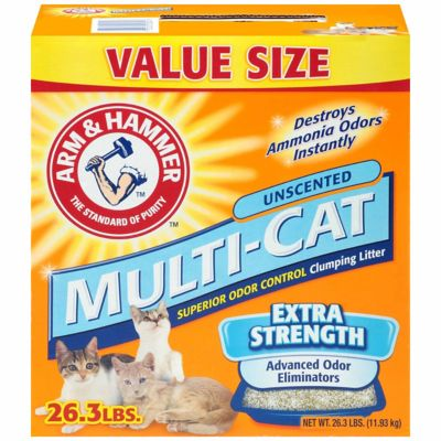 Buy Arm & Hammer Multi-Cat Strength Clumping Litter; 26.3 lb. Online