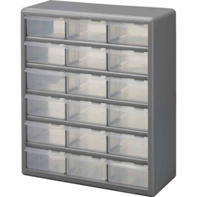 Stack On 18 Drawer Storage Cabinet