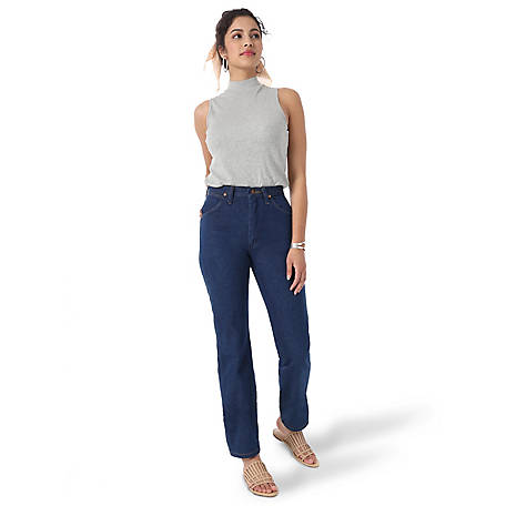Wrangler Pre-Washed Women's Cowboy Cut Slim Fit Jean