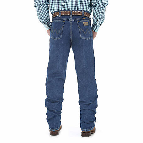 Wrangler Men's George Strait Cowboy Cut Relaxed Fit Jean