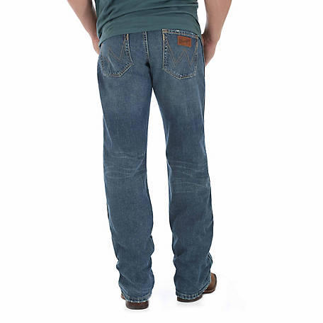 Wrangler Men's Retro Relaxed Straight Leg Jean