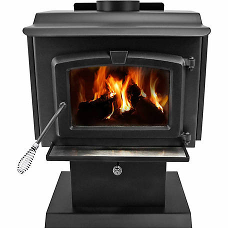 Pleasant Hearth Epa Certified Wood Burning Stove With
