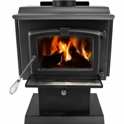 Pleasant Hearth EPA Certified Wood-Burning Stove with Variable Blower,  1,200 sq. ft. - For Life Out Here - Pleasant Hearth EPA Certified Wood-Burning Stove With Variable
