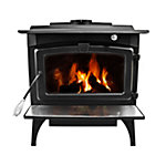 Pleasant Hearth EPA Certified Wood-Burning Stove with Variable Blower, 1,800 sq. ft.