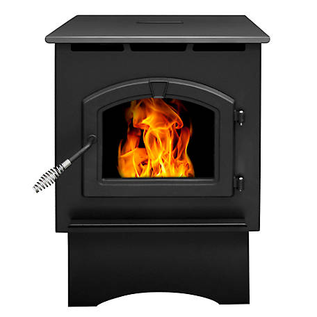 Pleasant Hearth Pellet Stove 35,000 BTU's with 40 lb. Hopper, 1,750 Sq. Ft.