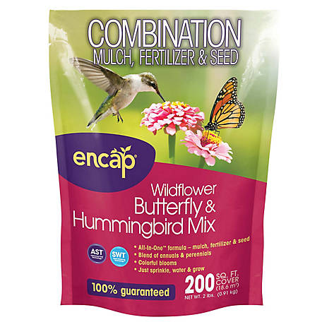 Encap Wildflower Butterfly and Hummingbird Mix, 2 lb.