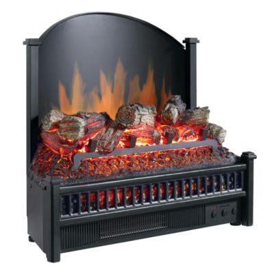 Pleasant Hearth Electric Fireplace Logs with Heater 23 in L at