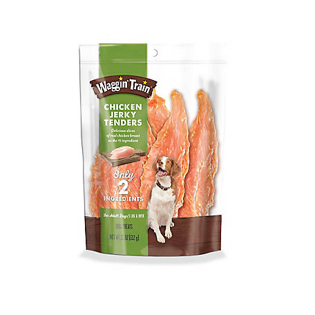 Waggin' Train Chicken Jerky Tenders Dog Treats, 11 oz. Pouch
