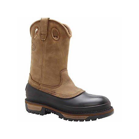 8ee72bb90a9 Georgia Boot Men's 11 in. Muddog Steel Toe Waterproof Wellington Boot at  Tractor Supply Co.
