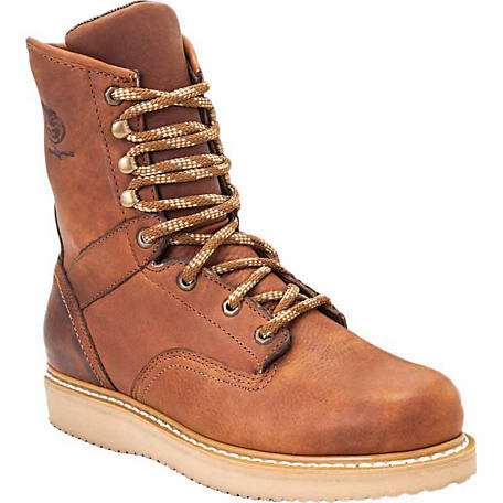 factory outlet limpid in sight 60% discount Georgia Boot Men's 8 in. Barracuda Gold Wedge Steel Toe Work Boot at  Tractor Supply Co.