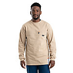 Berne Flame-Resistant Crew Neck Long Sleeve T-Shirt