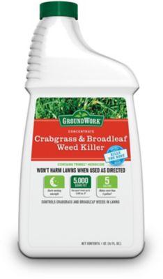 GroundWork Crabgrass & Broadleaf Weed Killer Concentrate