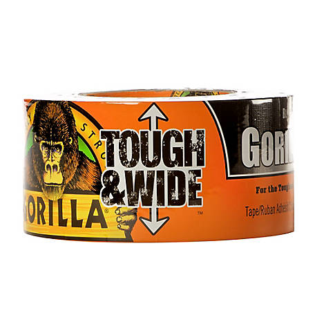 Gorilla Glue Gorilla Tape Tough & Wide, Black, 30 yd., 6003001